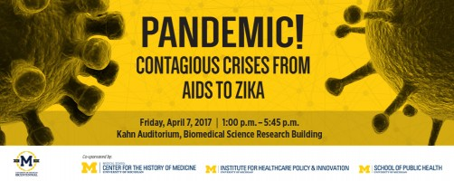Newswise: From AIDS to Zika: April 7 Event Features Top Speakers on Contagious Crises