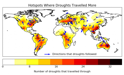 "Newswise: ""Traveling"" Droughts Bring New Possibilities for Prediction"