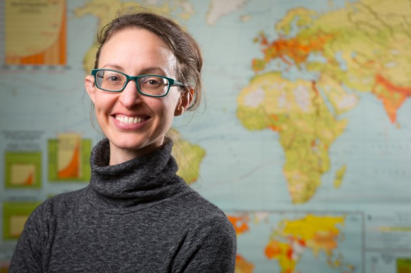 Abigail Cooke, assistant professor of geography, University at Buffalo