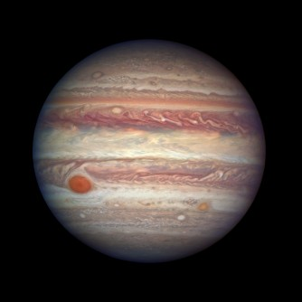 Newswise: Hubble Takes Close-up Portrait of Jupiter