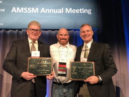 Newswise: Dr. Francis O'Connor Receives AMSSM's Top Honor