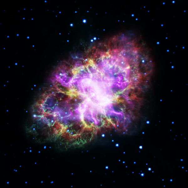 The Crab Nebula is a supernova remnant.