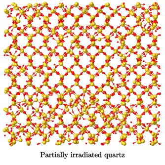 Newswise: Atomic Structure of Irradiated Materials Is More Akin to Liquid Than Glass