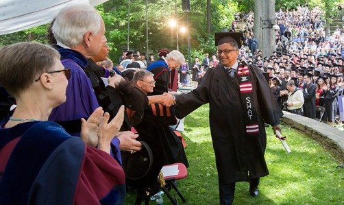 Newswise: More Than 40 Years After First Arriving at Swarthmore, Charles