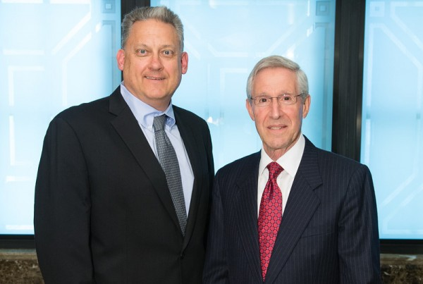 GRF Leadership includes Dr. Andrew Iwach (Board Chair) and Mr. Thomas Brunner (President and CEO)
