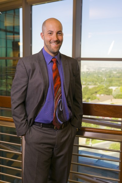 Dr. Eric Garland, associate dean for research at the University of Utah's College of Social Work, will oversee new Center on Mindfulness and Integrative Health Intervention Development.