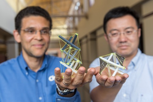Newswise: Researchers Create 3-D Printed Tensegrity Objects Capable of Dramatic Shape Change