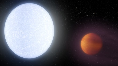 Newswise: A Planet Hotter Than Most Stars