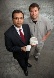 Newswise: Patient Receives 3-D Printed Skull after Traumatic Brain Injury