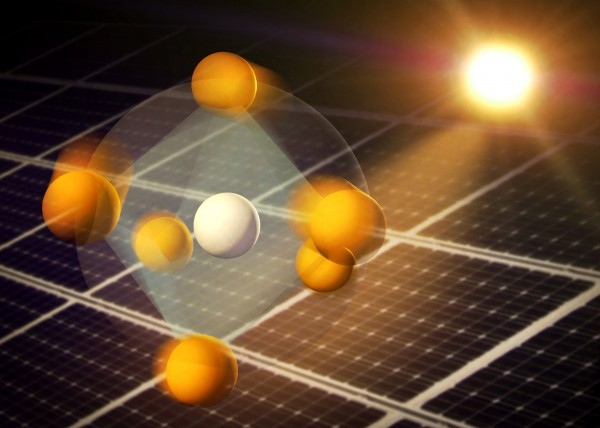According to a new SLAC study, atoms in perovskites respond to light with unusual rotational motions and distortions that could explain the high efficiency of these next-generation solar cell materials.
