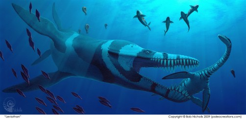 Newswise: Study Uses Robot to Probe Mystery of Prehistoric Sea Creature's Swimming Style