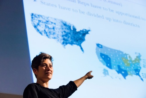 Newswise: Civic Math: Mathematicians Wield Geometry, Train Experts in Effort to Fight Gerrymandering and Promote Voting Rights