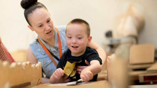 Newswise: Temple University Project Creates Cardboard Adaptations for Kids with Disabilities