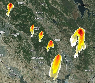 Newswise: Northern CA Wildfires Generate 1.5 Million Views of UC San Diego's 'Firemap' Resource