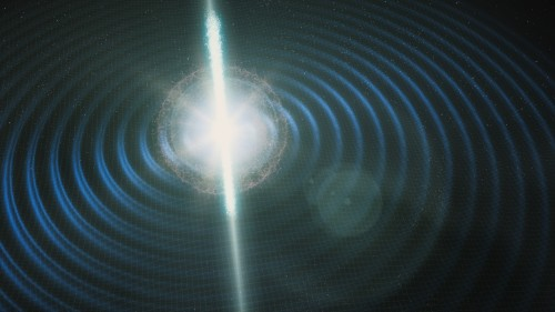 Newswise: Scientists Spot Explosive Counterpart of LIGO/Virgo's Latest Gravitational Waves