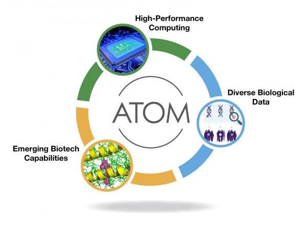 Lawrence Livermore National Laboratory has joined with partners at other national labs, industry, and academia in the Accelerating Therapeutics for Opportunities in Medicine (ATOM) consortium, aimed at creating a new paradigm of cancer drug discovery that would reduce the time from an identified drug target to clinical candidate from six years to just 12 months.