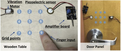 Newswise: Good Vibrations: Smart Access to Homes and Cars Using Fingers