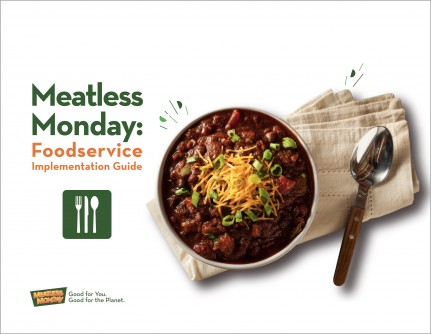 Newswise: New Meatless Monday Restaurant and Foodservice Implementation Guides for Free Download