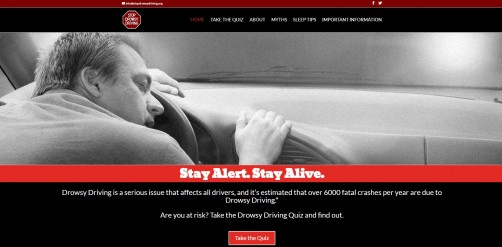 Newswise: New Website and Educational Program Dedicated to Reducing Drowsy Driving