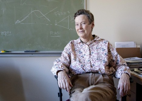 Helen Quinn, a professor emerita at SLAC and Stanford, will receive the 2018 Benjamin Franklin Medal in Physics.