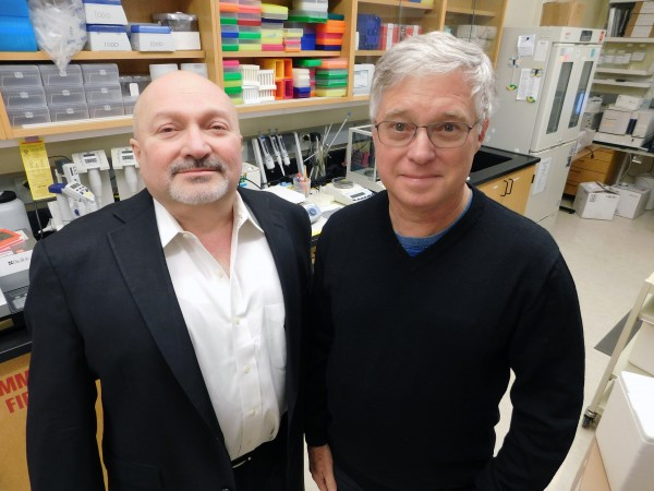 Raul Bastarrachea, MD, and Jack Kent, Ph.D., are part of the GEMM Family Study.