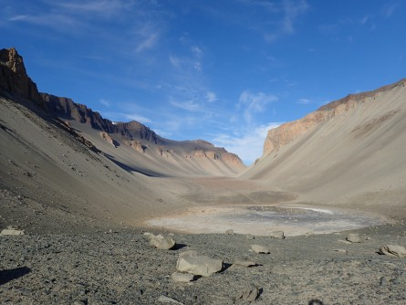 Newswise: Salt Pond in Antarctica, Among the Saltiest Waters on Earth, Is Fed From Beneath