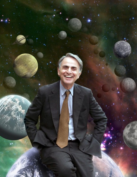 Famed late NASA astronomer Carl Sagan first hypothesized that the reason early Earth stayed warm although the sun shone dimly had to do with a greenhouse effect involving a gas mixture different from that in Earth's atmosphere today.