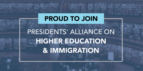 Newswise: President Ochoa Joins Presidents' Alliance on Higher Education and Immigration