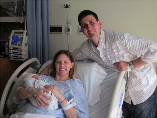 After giving birth, Tara Hansen expressed concern about her health but was sent home. Six days later, she died of an undetected infection that had occurred during delivery. Today, her husband, Ryan, honors her memory by raising awareness of maternal health through a foundation that bears her name.