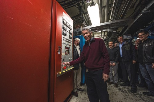Newswise: TRIUMF's Original Main Magnet Power Supply Laid to Rest