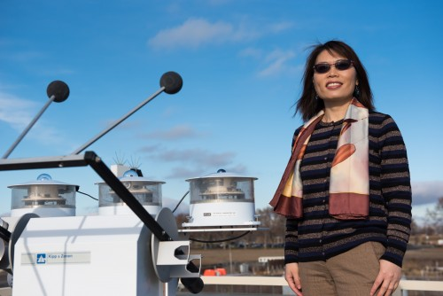 Jiwen Fan, PNNL atmospheric scientist, led the study showing how tiny particles fuel large storms in the Amazon.