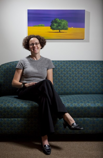 Binghamton University Professor of Psychology Meredith Coles