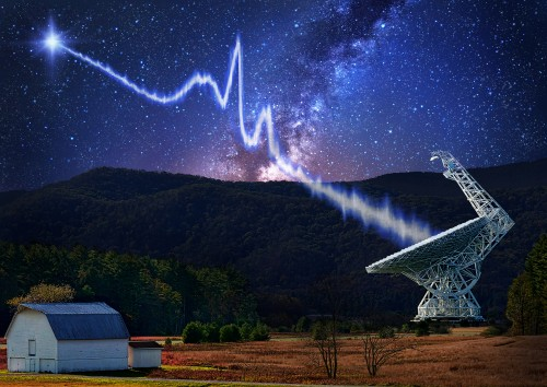 Astronomers Peer