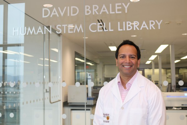 Karun Singh, study co-author and researcher with McMaster's Stem Cell and Cancer Research Institute.