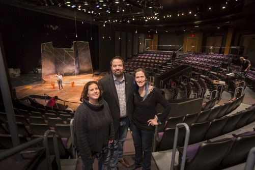 Newswise: Curtain Rises on UWM's Renovated, Updated Mainstage Theatre