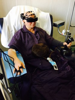 Newswise: Virtual Reality: An Escape From Painful and Stressful Medical Treatments