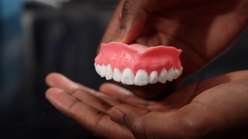 Newswise: Study: Drug-Filled, 3-D Printed Dentures Could Fight Off Infections