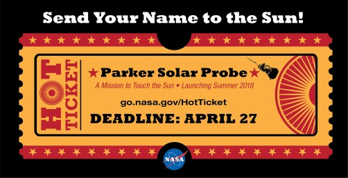 Newswise: Send Your Name to the Sun Aboard Parker Solar Probe