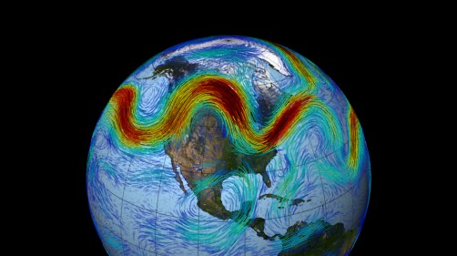 "Newswise: New Theory Finds ""Traffic Jams"" in Jet Stream Cause Abnormal Weather Patterns"