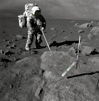 Newswise: Breathing Lunar Dust Could Pose Health Risk to Future Astronauts