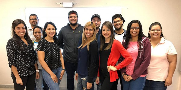 Students from the University of Puerto Rico are among the more than 60 students who are currently taking the online synchrotron light source course.