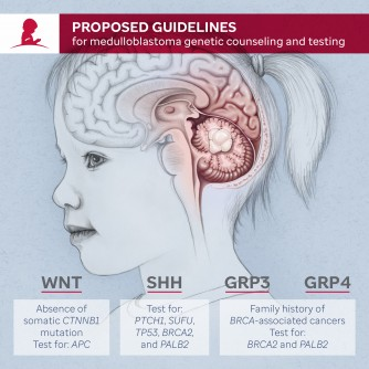 Newswise: Genetic Counseling and Testing Proposed for Patients with the Brain Tumor Medulloblastoma