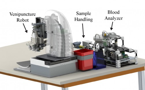 Newswise: Rutgers Researchers Develop Automated Robotic Device For Faster Blood Testing