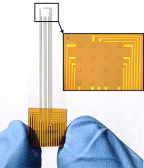 Newswise: A sprinkle of platinum nanoparticles onto graphene makes brain probes more sensitive
