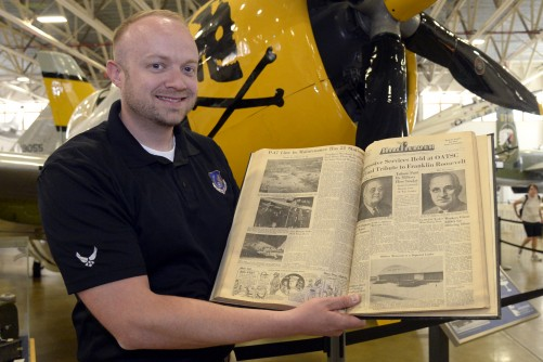 Newswise: Documenting 75 years at Hill Air Force Base
