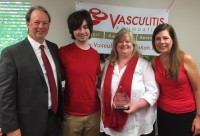 Newswise: Linda Brady, MD, Recognized by the Vasculitis Foundation (VF) with the 2018 V-RED Award