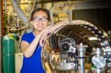 Ming Yi wins Spicer Award for superconductor research at SLAC's X-ray synchrotron