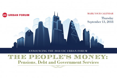 Newswise: UIC Urban Forum to Explore Pensions, Debt, Government Services