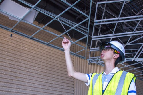 Newswise: Seeing What Isn't There in a Construction Site