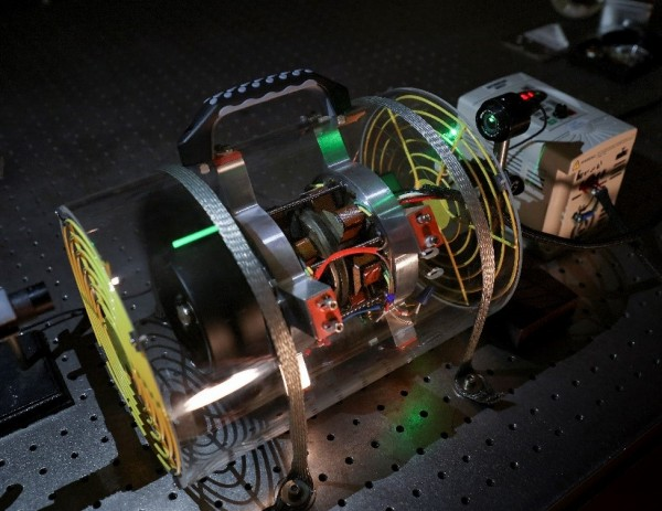 In work funded by the DOE Critical Materials Institute, ORNL researchers are demonstrating how rare earth permanent magnets can be harvested from used computer disk drives and repurposed in an axial gap motor.